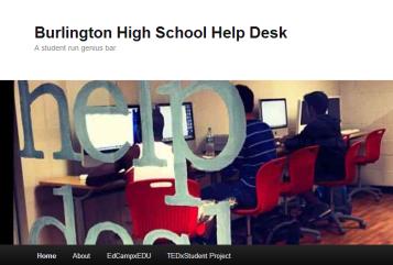 Burlington High School Help Desk   A student run genius bar-132459