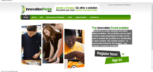 The Innovation Portal - Online Collaboration for the Creation of Engineering Portfolios   Online Collaboration for the Creation of Engineering Portfolios-100957