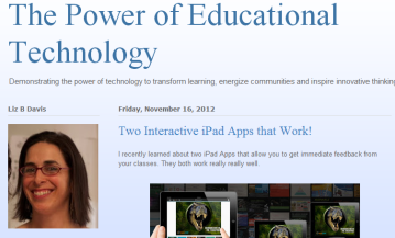 The Power of Educational Technology  Two Interactive iPad Apps that Work!-125854