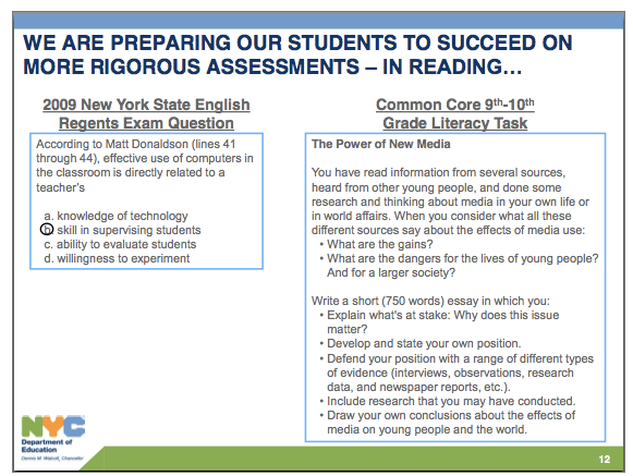 performance task K-12 performance tasks in math, english/language arts, science, and history/social studies see how the tasks are reviewed.