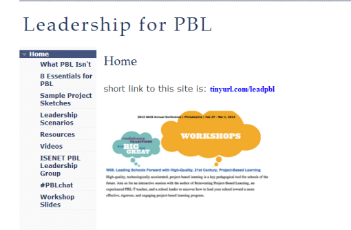 Leadership for PBL