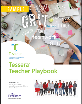 Tessera teacher playbook cover